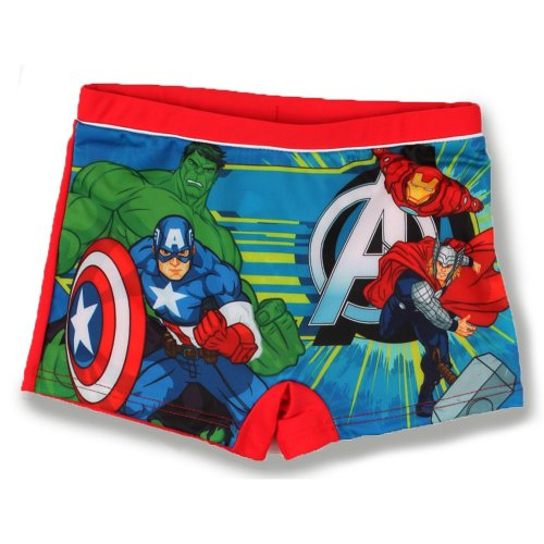 Avengers Swimming Boxers - Red