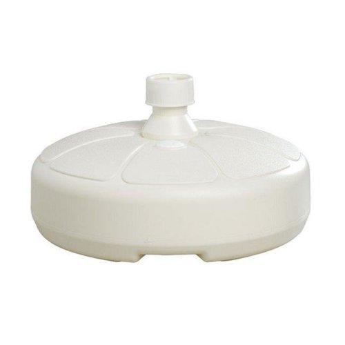 Adams 8129-48-3750 Resin Umbrella Base in White