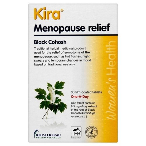 Kira Menopause Relief 30 Tablets