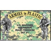 US Marines OIF Set #1 (18) 1/32 Armies in Plastic