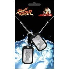 Street Fighter Fight Dogtag