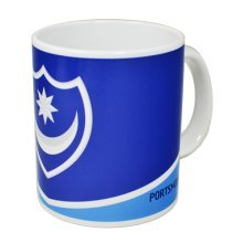 Portsmouth Crest 11oz Mug -  official licensed football product portsmouth fc crest 11oz mug cup coffee tea