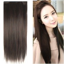 "Trixes 23"" Stylish Dark Brown Straight Hair Extensions"