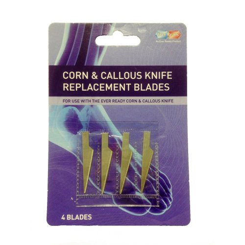 Ever Ready Corn Knife Replacement Blades -  blades replacement ever ready corn callous knife