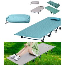 Ultralight Aluminium Camping Bed Beach Travel Folding Portable Camp