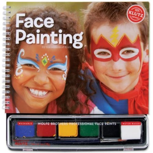 Klutz K443061 Face Painting Book Kit