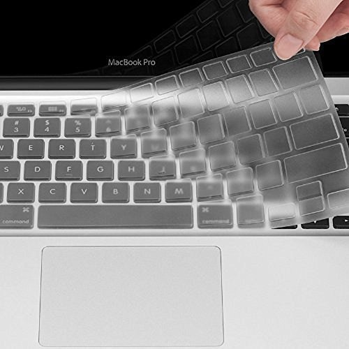 """Se7enline Clear Keyboard Cover Silicone Skin (US Layout) for MacBook Air 13"""""""