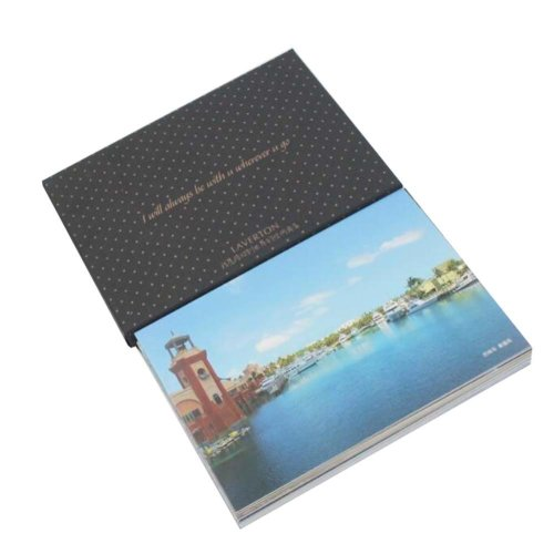 Postcard Hand Set Collection Set City View Painting Greeting Card  #6