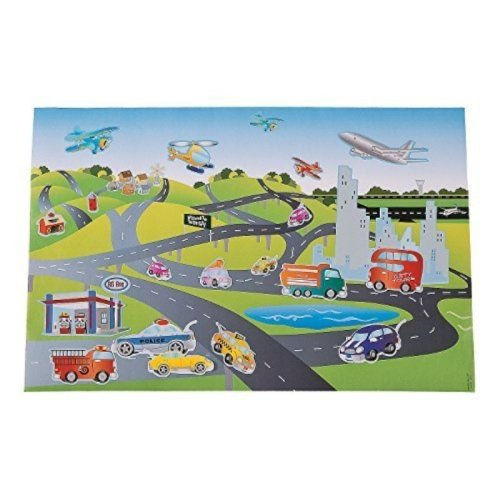 12 Jumbo Transportation Sticker Scenes Design Your Own - Cars Trucks Airplanes and more