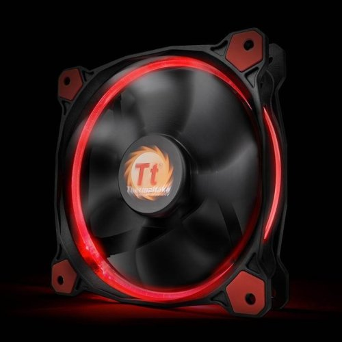 Thermaltake CL-F038 Riing 12 High Static Pressure Fan - Red