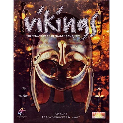 Vikings The Strategy of Ultimate Conquest - Windows & Mac PC CD-Rom