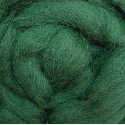 """Wistyria Editions Wool Roving 12"""" .22oz-Moss"""
