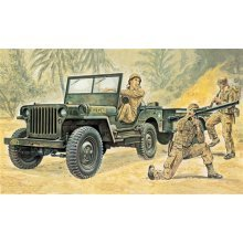 Willys MB Jeep with Trailer - MILITARY VEHICLES 1:35 - Italeri 314