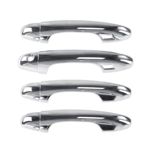 Atomsonic AMS1505A Chrome Door Handle Cover for 2016-2019 Toyota Tacoma with Smart KH