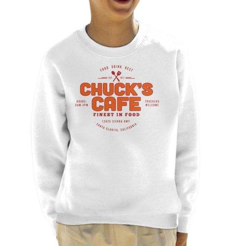 Chucks Cafe Santa Clarita Duel Kid's Sweatshirt