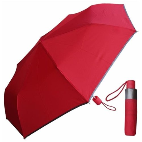RainStoppers W011 42 in. Manual Assorted Colors Super Mini Umbrellas, 6 Piece