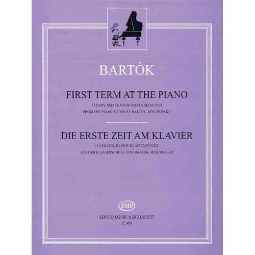 First Term at the Piano / Die Erste Zeit am Klavier