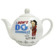Betty Boop I Don't Do Mornings Teapot