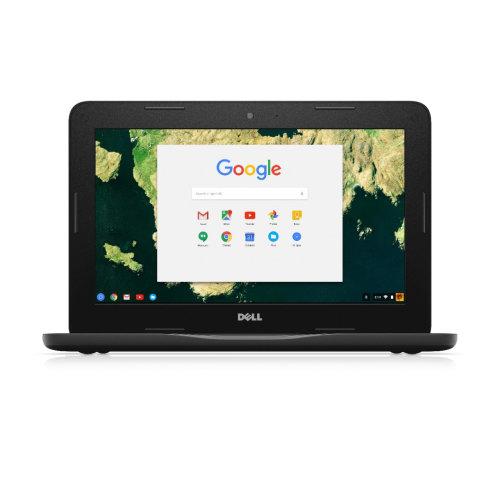 DELL Chromebook 3180 1.6GHz N3060 11.6  1366 x 768pixels Black Chromebook