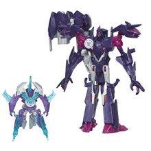 Transformers Robots in Disguise Mini-Con Decepticon Fracture and Airazor Figures