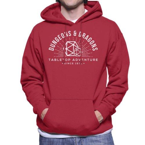 Dungeons And Dragons Adventures Since 1974 Men's Hooded Sweatshirt