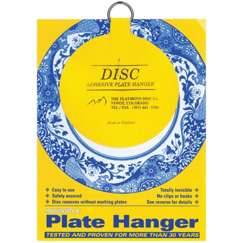 "Invisible Plate Hanger 4""-For Plates Up To 12"" Diameter"