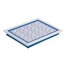 Blue Rose Lap Tray