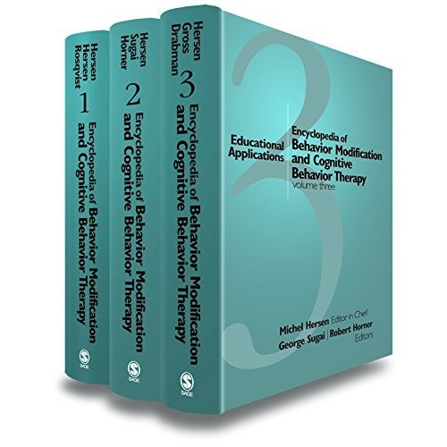 Encyclopedia of Behavior Modification and Cognitive Behavior Therapy: Adult Clinical Applications v. 1