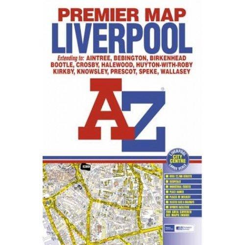 Premier Map of Liverpool (Premier Maps)