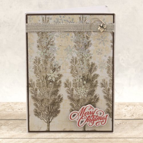 "Couture Creations Naughty Or Nice Hotfoil Stamp Set-Christmas Borders 7""X.7"""