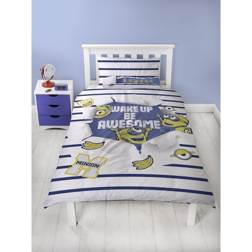 Despicable Me Awesome Single Duvet Cover Set