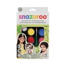 Snazaroo Rainbow Make Up Kit - Painting Face Fancy Dress Halloween Party -  painting face snazaroo up fancy dress kit make rainbow halloween party