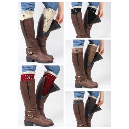 Boot Cuffs Ladies / Women knitted Boot Cuff / Leg Warmers