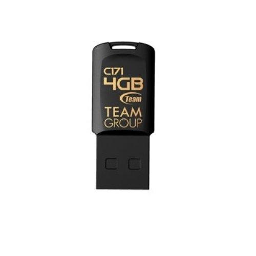 Team C171 4Gb Usb 2.0 Black Usb Flash Drive TC1714GB01