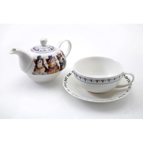 Royal Furmily Pawtraits Tea for One Set