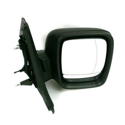 Vauxhall Vivaro Business 2014-2016 Electric Wing Door Mirror Black Drivers Side