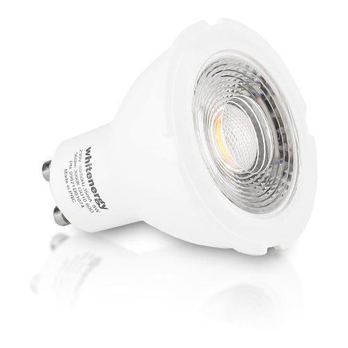 WHITENERGY LED Bulb  1x COB LED  MR16  GU10  8W 230V  White Warm (09821)