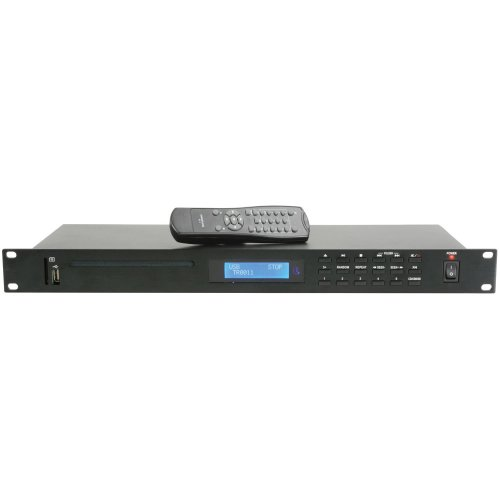 Multimedia Player with CD/USB/SD & FM Tuner