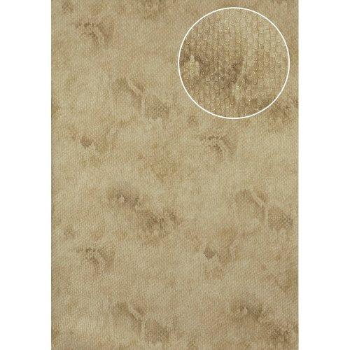 Atlas STI-5100-2 Animal pattern wallpaper shimmering ivory beige 7.035 sqm