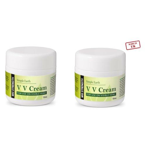 2pc Max Strength Visible Veins Cream – 50ml | Varicose Veins Cream