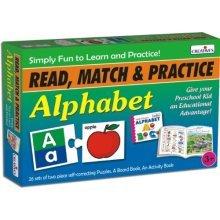 Read, Match And Practice Alphabet Pre-school Game - Cre1043 Creative Preschool -  cre1043 creative preschool read match alphabet