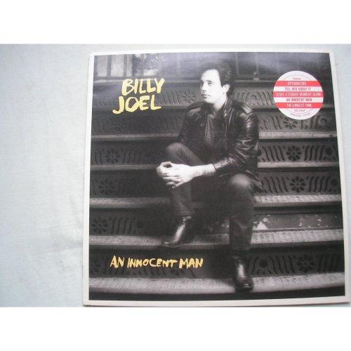 BILLY JOEL - An Innocent Man UK LP + inner 1983 ex+/ex