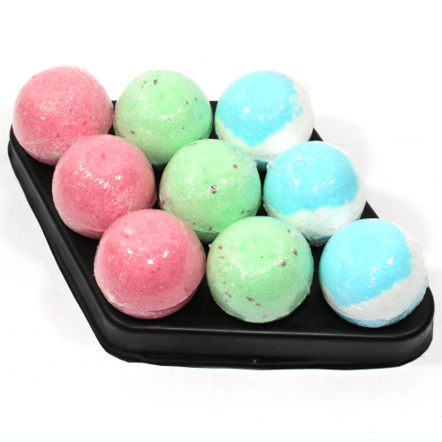 Bath Bombs Chirstmas Diamond - 9 x 65g bath bombs