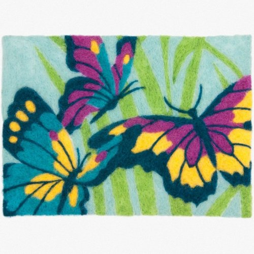 D72-73926 - Dimensions Needle Felting - Art: Butterflies