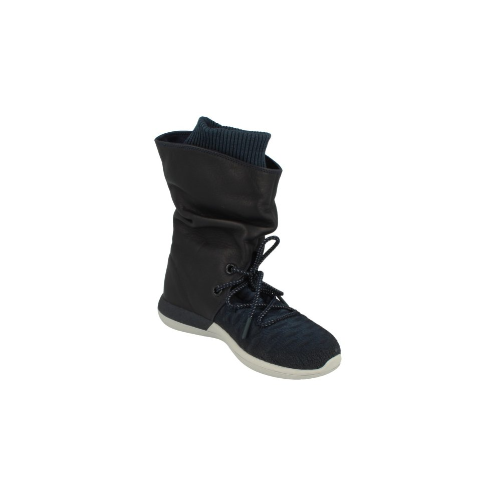 new product 5fa1f c3dc7 Nike Womens Roshe Two Hi Flyknit Trainers 861708 Sneakers Boots