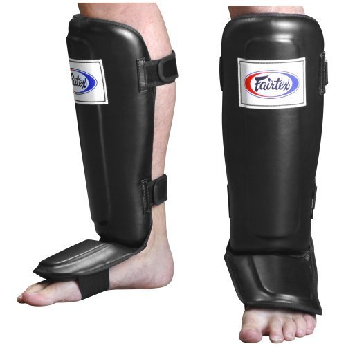 Fairtex Pro Style Shin Instep Guard Black X Large