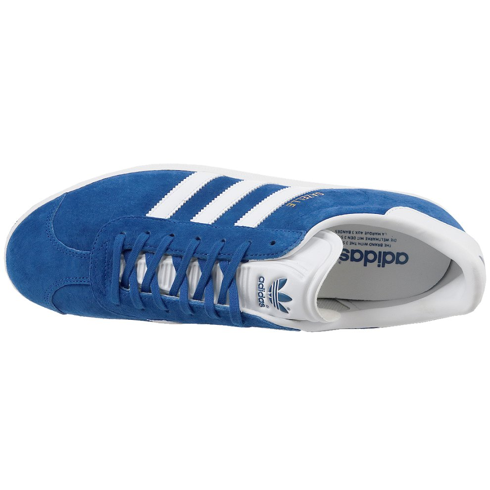 Adidas Gazelle Collegiate Blue Sneakers NO.S76227 Moderate Price