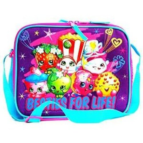 Lunch Bag - Shopkins - Besties For Life Kit Case New 424410