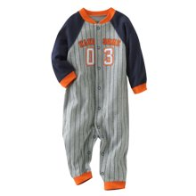 Baby Suit Baby Clothing Long-Sleeved Cotton Baby Crawl Sports Clothing Orange