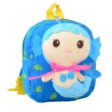 Cute Cartoon Backpack Kindergarten Shoulder Bag Fashion School Bag-Mermaid A2